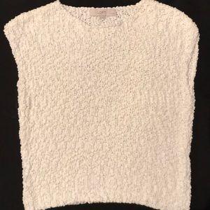 2 for $40 Ann Taylor white sleeveless sweater